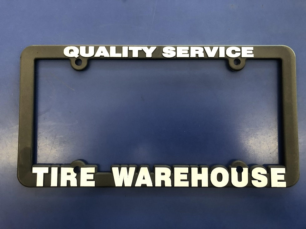 Tire Warehouse Plate